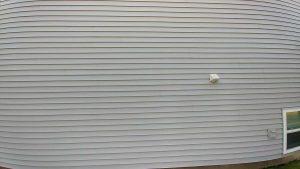 Clean siding